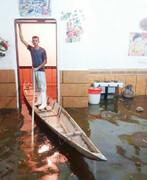 خانه بر آب یعنی این؛ قایق سواری در اتاق نشیمن
