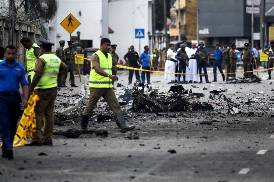 انفجار سريلانكا