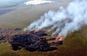 هشدار آتشسوزی احتمالی در مناطق تحت مدیریت محیط زیست