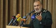 سرلشکر سلامی: امنیت خواسته بلاواسطه مردم است
