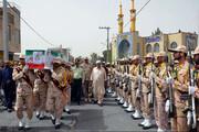 پیکر شهید دریابانی در زاهدان تشییع شد