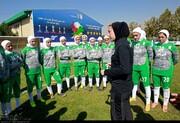 سرمربی تیم فوتبال دختران ایران: هدف ما صعود است
