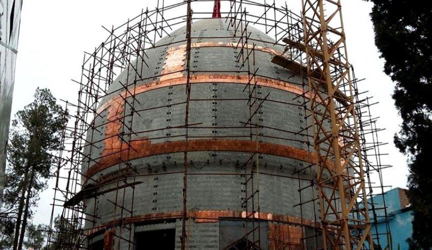 گنبد جدید حرم مطهرامام حسین(ع) به زودی نصب می شود