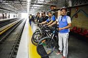 دوچرخهها وارد مترو میشوند