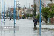 ورود دوباره آب به بخشی از شهر آققلا