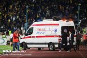 نتیجه بازی پرسپولیس - سپاهان ؛ ۲۵۹ مصدوم، ۴۵ نفر بستری و یک کشته