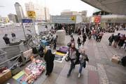 پاکسازی معابر عمومی پایتخت از دستفروشان و بساطگستران