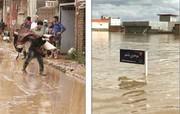 تلاش برای خروج فوری سیلاب از آققلا