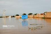 سیلاب در بخش مرکزی اهواز فروکش کرد