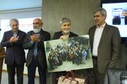 گزارش تصویری | آیین بزرگداشت استاد علیاکبر قاضیزاده در موسسه همشهری