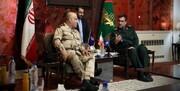 رایزنی فرمانده نیروی دریایی عراق با سپاه برای اجرای رزمایش مشترک