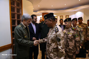 عکس | دیدار فرماندهان ارشد نظامی عراق با وزیر دفاع ایران