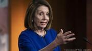 نانسی پلوسی وزیر دادگستری آمریکا را دروغگو خواند