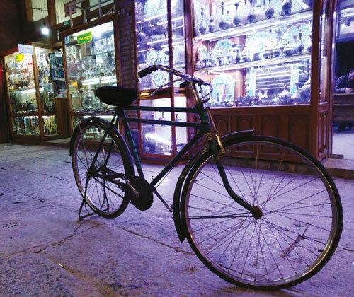 دوچرخه ی جادويی