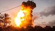 حمله هوایی رژیم صهیونیستی به شمال نوار غزه