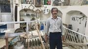 روایت پیرمرد ۷۸ ساله که موزهدار روستا شد