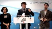 دادگاه اسپانیا شرکت رهبر فراری کاتالونیا در انتخابات پارلمان اروپا را مجاز دانست