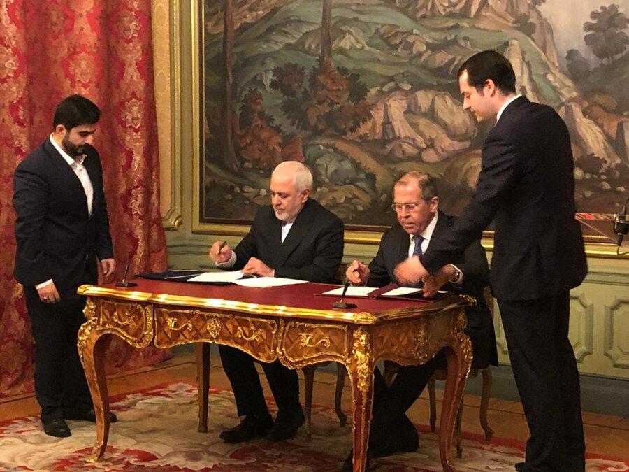امضاي پروتکل دوجانبه تسهیل شرایط سفر اتباع ایران و روسیه