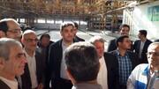 بازدید حناچی از کارخانه واگنسازی تهران