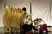 اجرای نمایش عروسکی غول بابا در تالار هنر