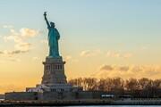 محدویت برای گردشگران برای بازدید از مجسمه آزادی