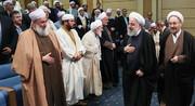 دیدار روحانی و علما و فرهیختگان اهل سنت سراسر ایران
