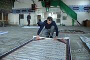 غبارروبی ۶۰ مسجد در ماه مهمانی خدا
