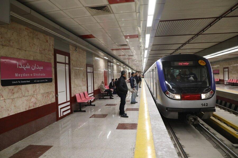 مترو خط شش
