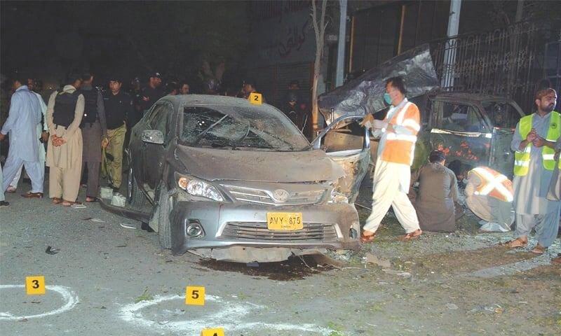 بمبگذاری در کویته