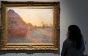 فروش تابلو نقاشی مونه رکورد زد