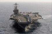 ناو هواپیمابر آبرهام لینکلن در دریای عرب متوقف شده   خلیج فارس از همیشه خالیتر است