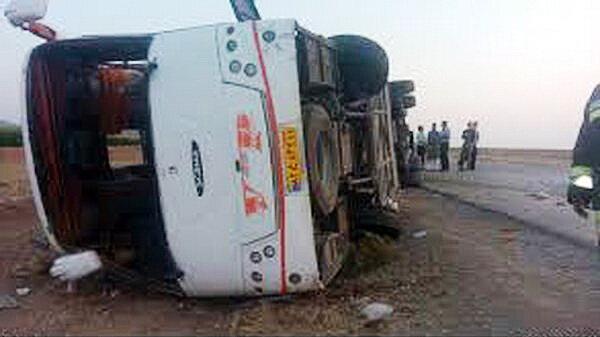 واژگوني اتوبوس