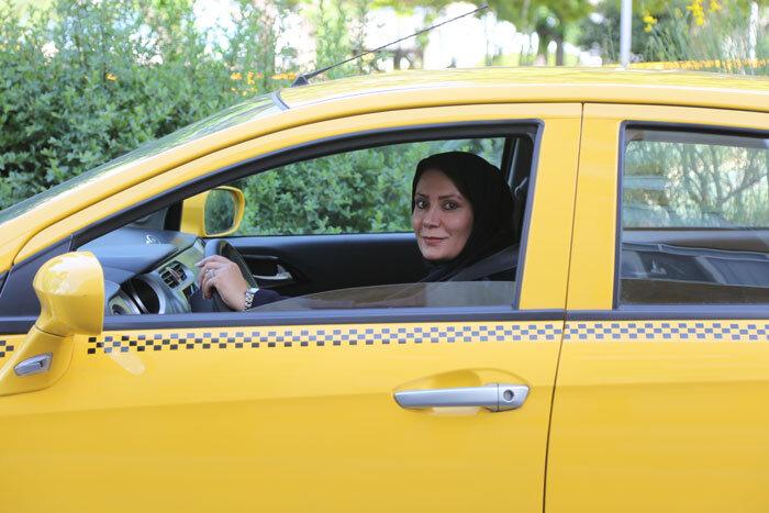 راننده تاکسی زن
