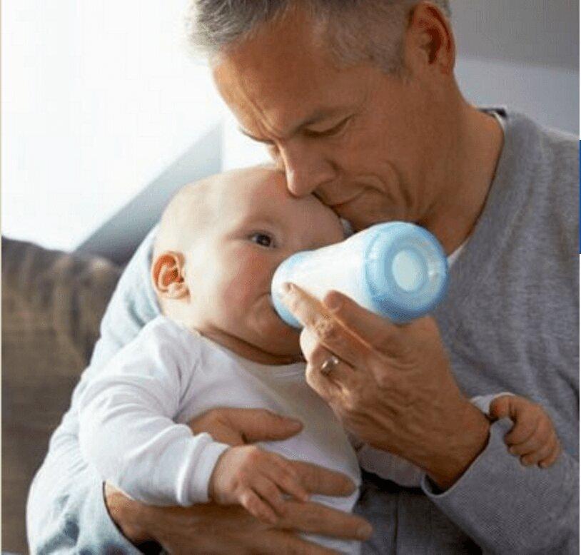 مردان مسن بچهدار نشوند