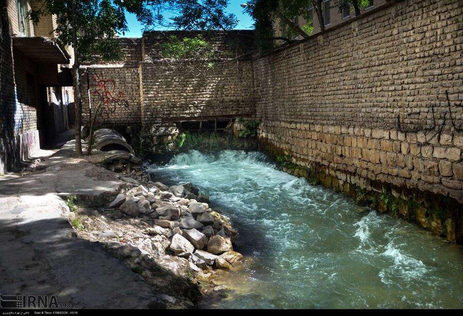 چشمهها در خیابانهای خرمآباد