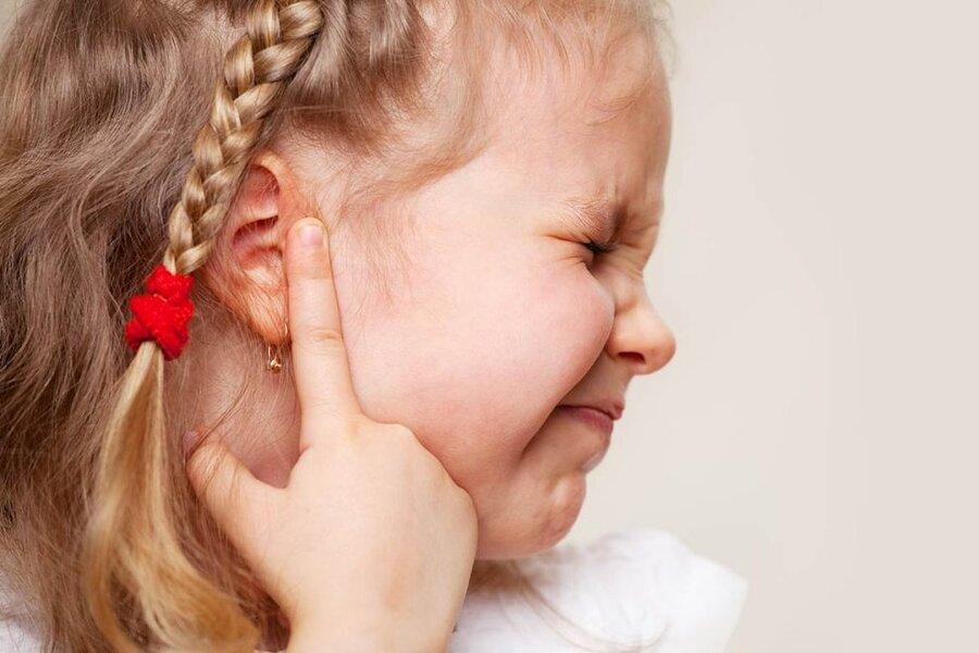 گوش درد كودك