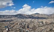 افزایش موقتی غلظت آلاینده ازن در هوای تهران