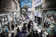 هشدار در مورد سقف در حال ریزش بازار آهنگران تهران