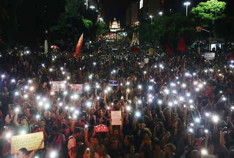 اعتراض در برزیل