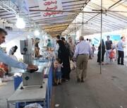 برپایی ۷۰ غرفه کالاهای اساسی در بوستان ولایت