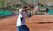 شیردل قهرمان تنیس آزاد کشور در مشهد شد