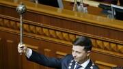 زلنسکی به عنوان رئیس جمهور اوکراین سوگند یاد کرد