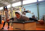 عکس روز | تمرینات تیم ملی والیبال زنان