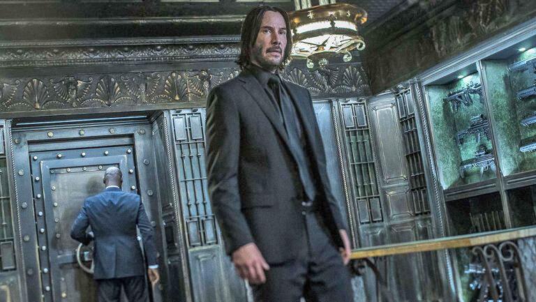 كيانو ريوز در نقش جان ويك