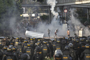 درگیریهای شدید در اندونزی در اعتراض به نتایج انتخابات ریاست جمهوری