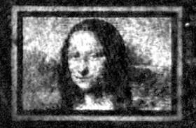 باز آفرینی مونالیزا روی بومی به اندازه عرض یک موی انسان