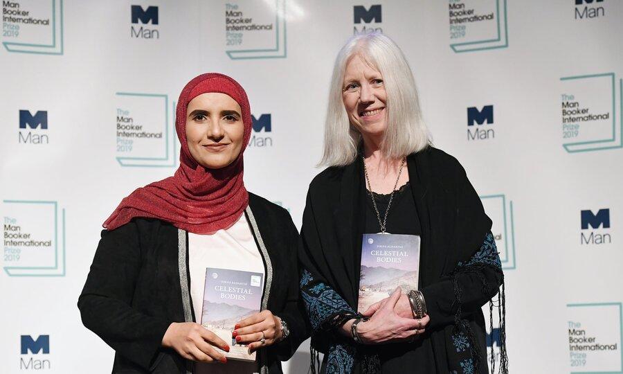 خانم جوخه الحارثی رمان نويس عمانی برنده جایزه من بوکر بین المللي  ۲۰۱۹ شد.