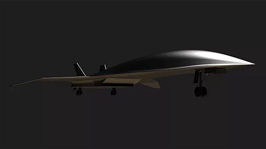 hyper-sonic plane