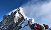 عکس روز: صف کوهنوردان اورست