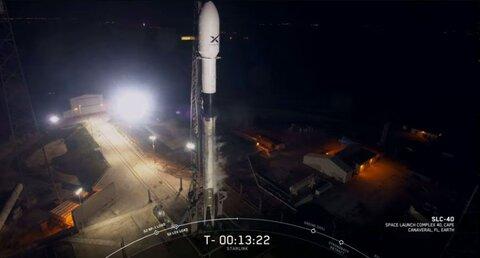 اسپیسایکس ۶۰ ماهواره اینترنتی را در مدار زمین قرار میدهد